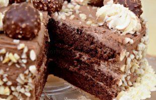 Ferrero Rocher Layer Cake